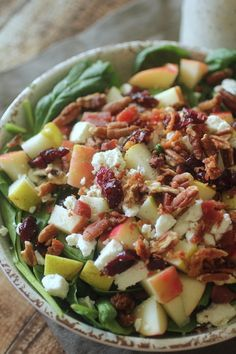 Dashing Dish: Pecan and Cranberry Salad with Poppyseed Dressing