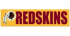Washington Redskins Bumper Sticker NEW!! 3 x 11 Inches Free Shipping! Wincraft