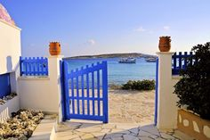 Open gate Greek Islands, More Photos, Beautiful Images, Gate, Greece, Pergola, Outdoor Structures, Greek Isles, Greece Country