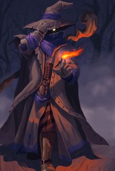 Black Mage from Final Fantasy Tactics.