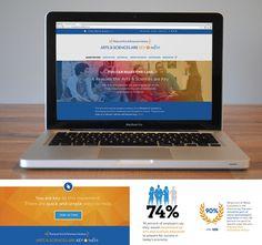 The Phi Beta Kappa Society website designed by fatrabbit CREATIVE.