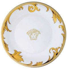 Versace Home Rosenthal Arabesque Gold Dinnerware.