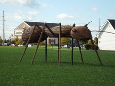 RK:Giant Insect Sculptures at Levis Commons | Flickr - Photo Sharing!