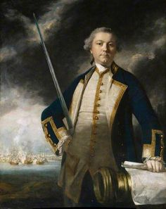 Augustus John Hervey, 3rd Earl of Bristol (1724–1779), Admiral and Politician   by Joshua Reynolds  St Edmundsbury Museums   Date painted: c.1770