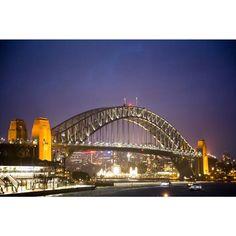 Sydney Harbour Bridge from Circular Quay#sydneyharbour #circularquay #sydneyharbourbridge #sydney #australia #lunapark #travel by everydaytourist.nz http://ift.tt/1NRMbNv