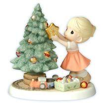 Precious Moments: You Brighten My Christmas.