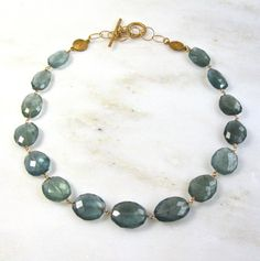 Absolutely OUTSTANDING Moss Aquamarine Faceted Gem by TheAtelier, $689.00