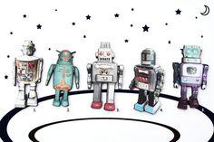 ARE+YOU+A+ROBOT+?+●♥✿+ROBOTER-BROSCHE●♥✿+von+pension+auf+DaWanda.com