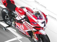 Team Ducati Alstare svela i colori 2013 della 1199 Panigale