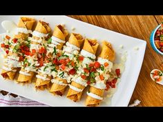 Chicken and Cheese Flautas | An authentic Mexican recipe for any day of the week!