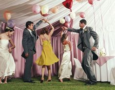 Nobody wants their wedding to be a snoozefest, right?! Don't get us wrong, we have nothing against the dinner/dance party program that most weddings follow, but if you really want your reception to be a memorable one, you have to think outside of the box. And the good news is that nowadays, thanks
