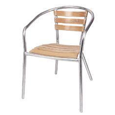 Bolero Aluminium and Ash Chair
