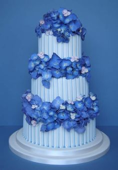 Stunning hydrangea cake...