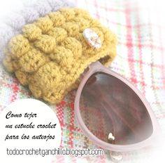 Todo crochet: Patrones crochet de estuche para anteojos en punto...