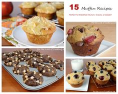 Parade's Community Table ~ 15 Muffin Recipes - Perfect for Breakfast, Brunch, Snacks, or Dessert