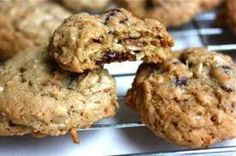 Orange Oatmeal Cranberry Cookies