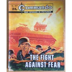 Commando Comic Picture Library #1977 War Action Adventure £2