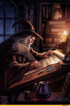 Fantasy,Fantasy art,art,арт,красивые картинки,wizard,волшебник