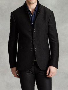 Convertible Notch Lapel Jacket