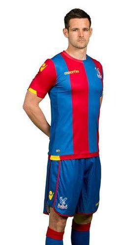 New Palace Kit 15-16 Mansion Sponsor Crystal Palace Macron Shirts 2015-2016  Home 5c2fdd8dcb08f