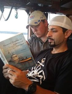 CAPT CASEY MCMANUS AND CAPT JOSH HARRIS OF THE CORNELIA MARIE Cornelia Marie, Deadliest Catch, Discovery Channel, New Shows, Movies And Tv Shows, Movie Tv, It Cast, Crabs, Guys