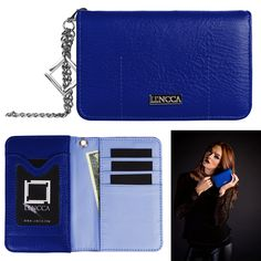 Lencca Kymira Women's Wallet Clutch for LG G4 / G Stylo / G Flex2 / G Vista. A collective interpretation of a versatile wallet that is organized and able to seamlessly transition end uses. The Kymira is soft to the touch, and combines function with convenient design. The Kymira was created using two of Lencca's prime materials. Both materials are simple to maintain and weather resistant. The exterior actively repels liquids without absorbing a single drop, while the interior creates water...