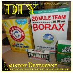 Homemade Laundry Soap Recipe #diylaundrysoap #homemadelaundrysoap