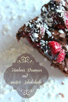 sasibellas creativity: Himbeer Brownies mit weißer Schokolade