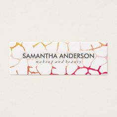 #chic - #Contemporary Chic Pattern Mini Business Card