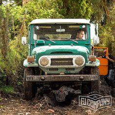 OffRoad Test Before Restoration 1978 Toyota LandCruiser FJ43 Rustic Green #fjco1978rusticgreen #fjcompany #fj43forsale