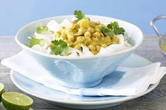 On the table in just 15 minutes, this budget-busting Indian-inspired dish is delicious finished with a squeeze of fresh lime.