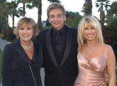 With Suzanne & Lorna Lorna Luft, Suzanne Somers, Barry Manilow, Great Memories, Love Him, The Man, Famous People, Friends, Rocks