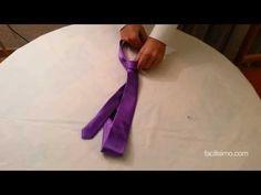 Cómo hacer un nudo de corbata en 10 segundos | facilisimo.com