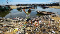 China, the most populous nation, has the most mismanaged plastic waste per year, according to a report in the journal Science. (CNN)Nearly every piece of plastic still exists on Earth, regardless of whether it's been recycled, broken down into microscopic bits or discarded in the ocean.  And the world keeps producing more of the material -- creating 288 million metric tons of it in 2012.