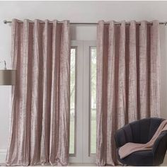 Canora Grey White Elegance 2.8m x 400cm Wallpaper & Reviews | Wayfair.co.uk Room Darkening Curtains, Door Curtains, Japanese Home Design, Valencia, Stoff Design, Recording Studio Design, White Elegance, Velvet Curtains, Thermal Curtains