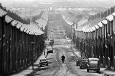 Sirkka-Liisa Konttinen, photos of the district of Byker in Newcastle-Upon-Tyne