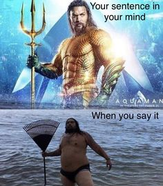 33 Funniest Memes and Pic to Get Your Laugh On ~ nailed it Aquaman Jason Momoa Memes Humor, Dc Memes, Humor Videos, True Memes, Stupid Funny, Funny Cute, Really Funny, Funny Stuff, Funny Things