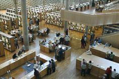 Interior, Bibliotheca Alexandrina