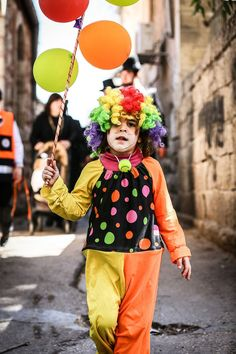 Purim Celebration . Jerusalem