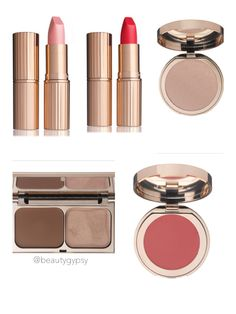 Charlotte Tilbury collaborated with famous photographer Norman Parkinson to create this limited edition collection.