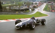 1967 Gurney Eagle - the most beautiful F1 car ever? (photo by John Lamm at Spa)