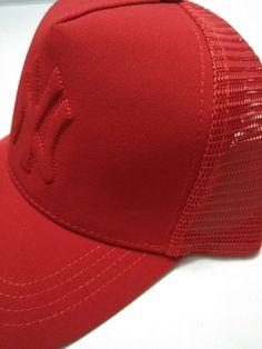0fedf041 Red Designer New York Yankees Snapback Hat - MLB - Mesh Trucker #fashion  #clothing