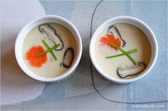 Chawanmushi Recipe (Japanese Steamed Egg Custard/茶碗蒸し) | Easy Asian Recipes at RasaMalaysia.com
