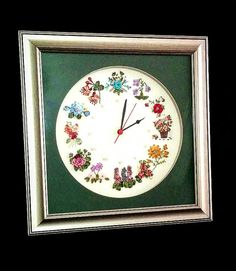 Check out this item in my Etsy shop https://www.etsy.com/listing/261917919/clock-ribbon-embroidery-ribbon