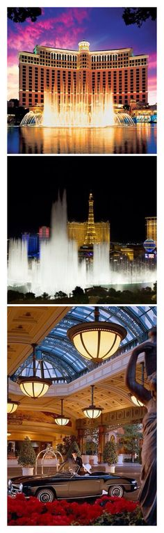 The Bellagio Casino Hotel - Las Vegas- LadyLuxuryDesigns
