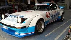 RX-7 FB Racer Japanese Sports Cars, Japanese Cars, Zoom Zoom, Jdm Cars, Car Photos, Mazda, Cars And Motorcycles, Cool Cars, Race Cars