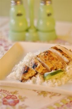 Honey Lime Chicken-- easy last minute recipe.