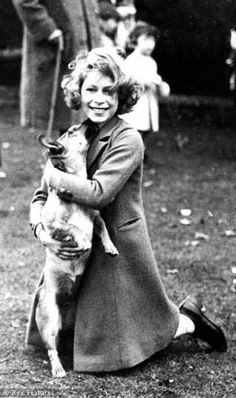 1937 Princess Elizabeth (via The Life Of A Queen In Pics)