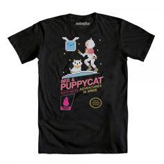 Bee & Puppycat Adventures basic men's crew tee