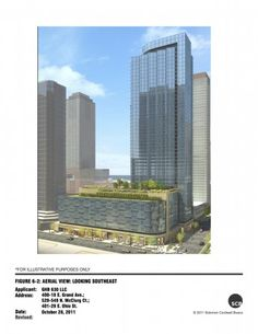 My new neighbor, 410 E. Grand, got approval from the Chicago Plan Commission yesterday.